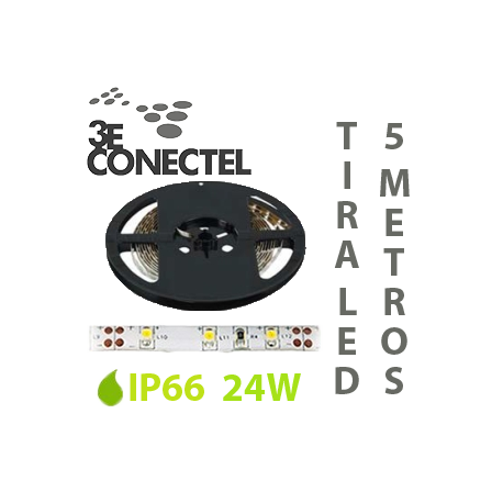 TIRA LED 5 METROS 24W IP66