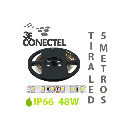 TIRA LED 5 METROS 48W IP66