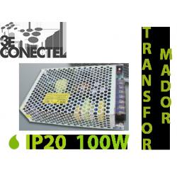 TRANSFORMADOR 100W TIRAS LED INTERIOR IP20