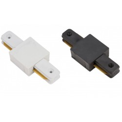 CONECTOR RECTO PARA UNION CARRIL FOCOS LED