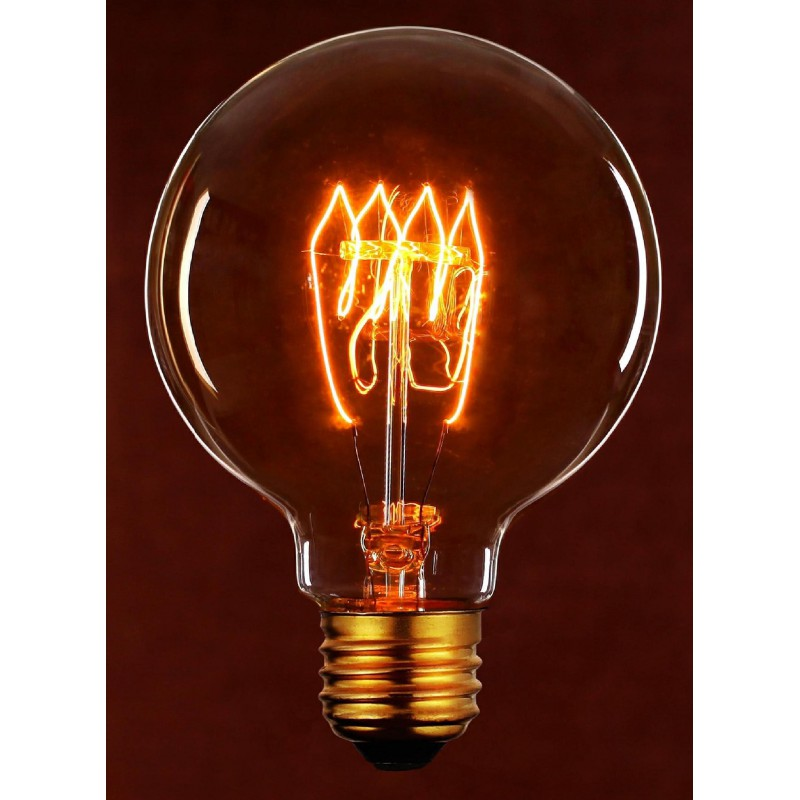 L mpara vintage decorativa globo 40w granadaled - Iluminacion led decorativa ...