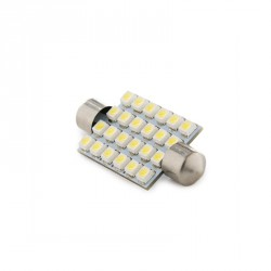 BOMBILLA LED FESTOON CANBUS 24 LEDS 42MM