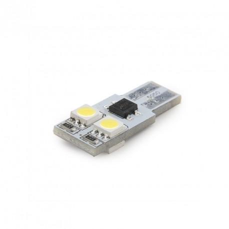 BOMBILLA LED BASE T10 4 LEDS SMD5050