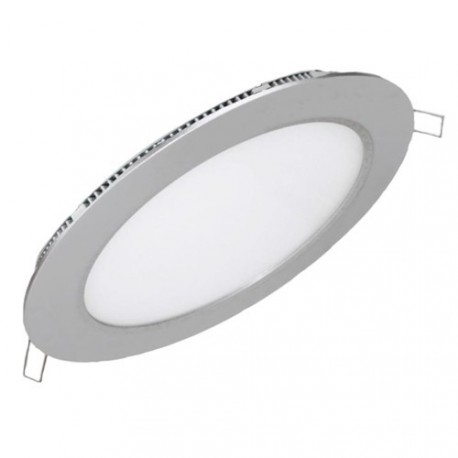 DOWNLIGHT CIRCULAR LED 12W MARCO PLATA