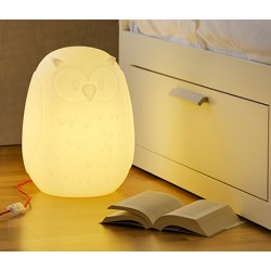 Lámpara Búho decorativo con bombilla LED E27 10W