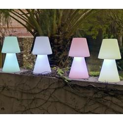 Lámpara de sobremesa Led RGB con mando, 45 cm. 3,4W