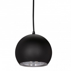 LAMPARA SUSPENDIDA LED ESTILO BOLA 12W VARIOS COLORES