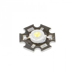 MODULO 1W LED HIGH POWER 35x35 CON DISIPADOR