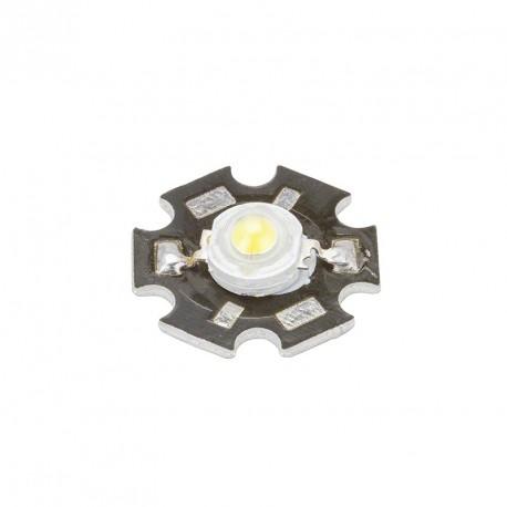 MODULO 1W LED HIGH POWER 35x35 CON DISIPADOR