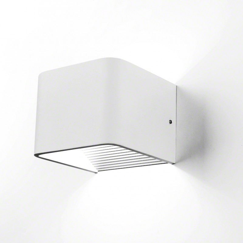 Aplique de pared led 6w cuadrado granadaled apliques de for Apliques de pared exterior led