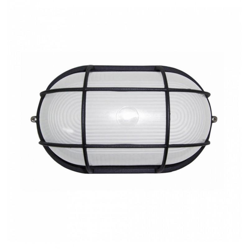 Plaf n de pared ovalado e27 granadaled apliques de for Plafones exterior iluminacion