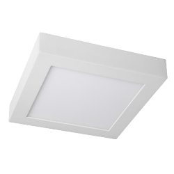 PLAFON DE SUPERFICIE CUADRADO LED 18W