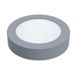 PLAFON DE SUPERFICIE CIRCULAR LED 18W MARCO PLATA