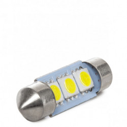 BOMBILLA LED FESTOON CANBUS SV8,5 3 LEDS 36MM
