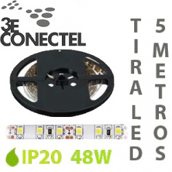 TIRA LED 5 METROS 48W IP20