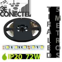 TIRA LED 5 METROS 72W IP20